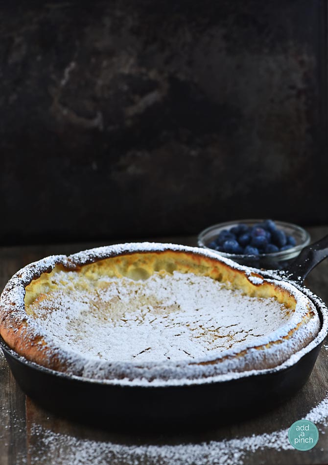 Dutch Baby from addapinch.com