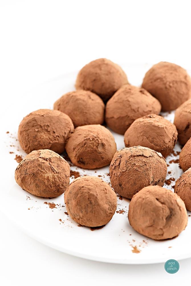 Truffles Recipe from addapinch.com