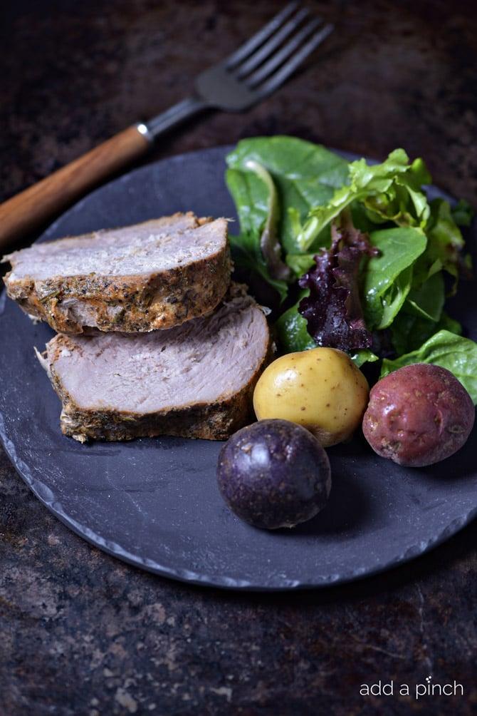 Pork Sirloin Roast from addapinch.com