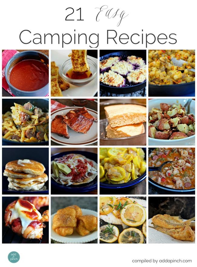 21 Easy Camping Recipes Add A Pinch