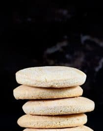 Southern Tea Cakes are old-fashioned, simple sugar cookies. Lightly sweetened, these classic cookies are a family favorite! // addapinch.com