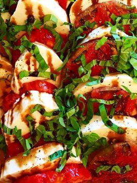 Caprese Salad Recipe with Balsamic Glaze