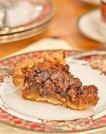 Pecan Pie Recipe | ©addapinch.com