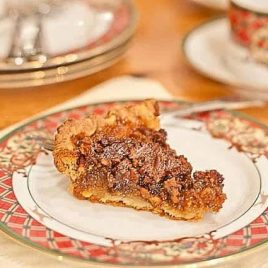 Pecan Pie Recipe | ©addapinch.com