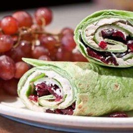 Turkey Wrap from addapinch.com