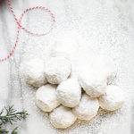 Pecan Sandies Cookies Recipe - These cookies go by many names, Mexican Wedding Cookies, Snow Cookies, and so many more. No matter what you call them, they are always scrumptious! // addapinch.com