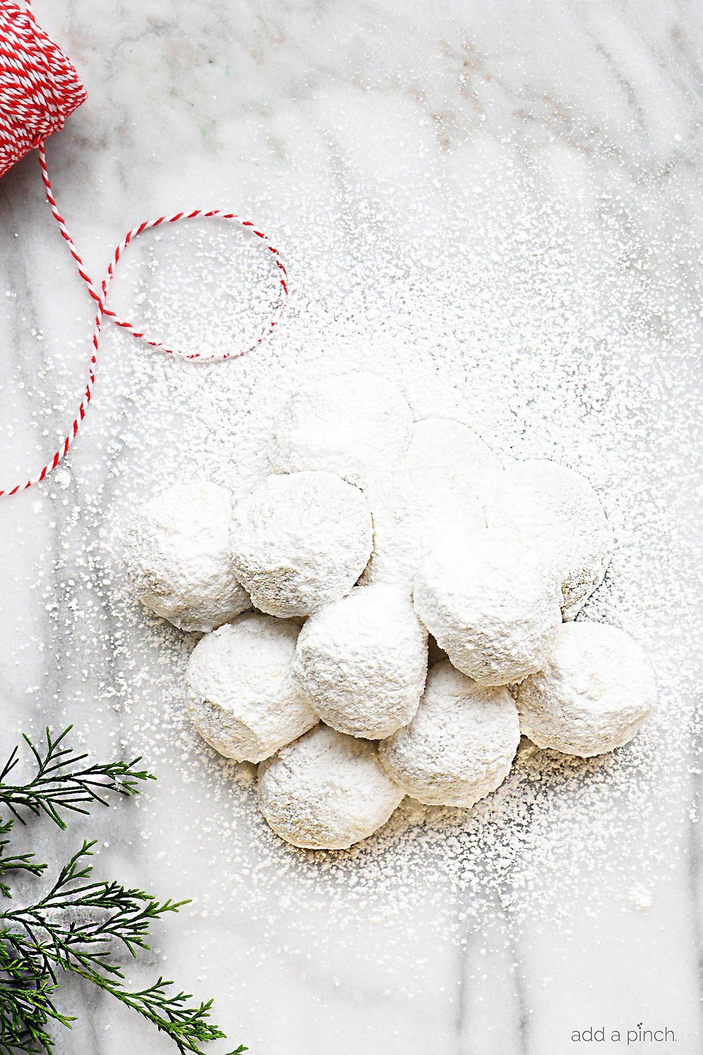 Pecan Sandies Cookie Recipe Mexican Wedding Cookies Add A Pinch