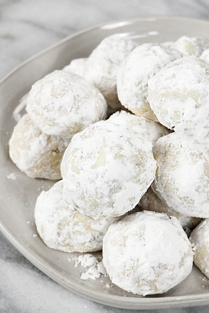 Pecan Sandies Cookie Recipe Mexican Wedding Cookies Add A Pinch