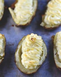 Twice Baked Potatoes Recipe from addapinch.com
