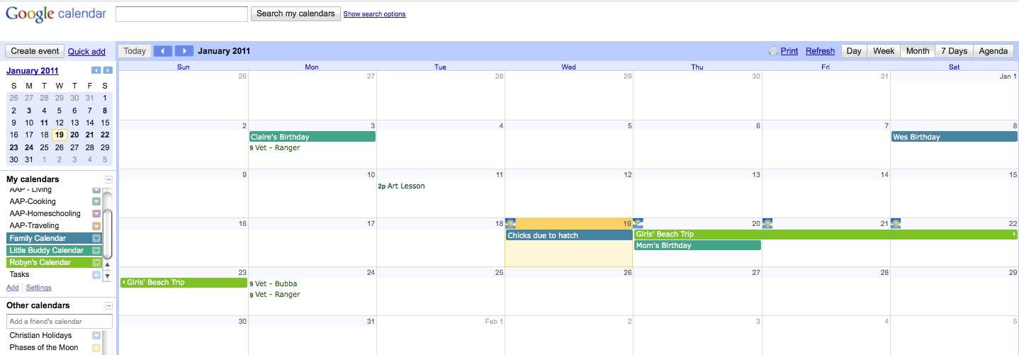 how to add someone to my google calendar