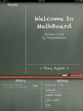 MathBoard for iPad