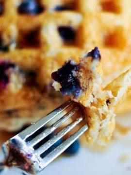Waffle Recipe :: Blueberry Waffle Recipe