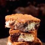 Chocolate Marble Squares Cake Recipe