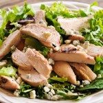 Grilled Chicken and Gorgonzola Salad