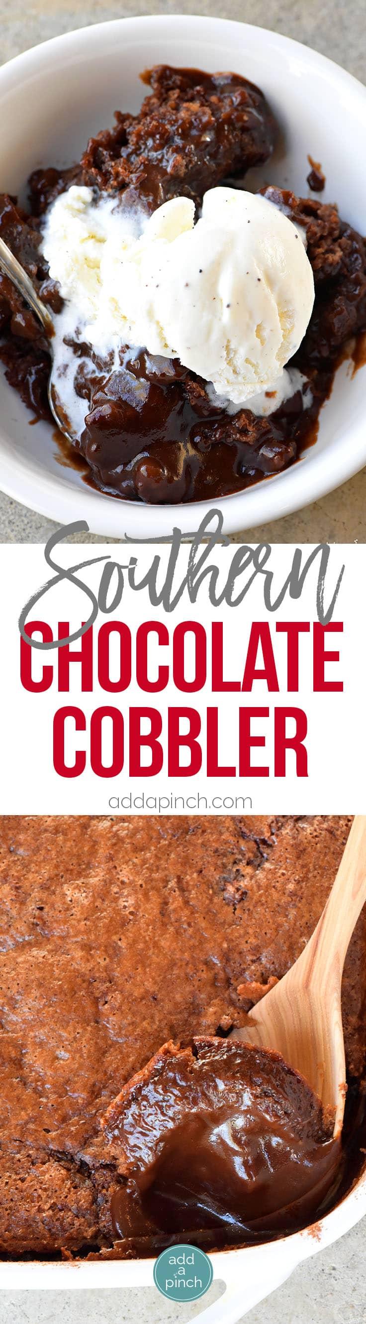 Southern Chocolate Cobbler Recipe - Add a Pinch