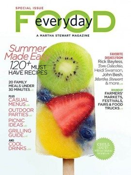Martha Stewart Living Everyday Food Summer Edition Giveaway