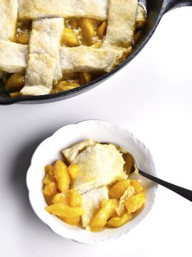 Grandmother's Peach Cobbler Recipe