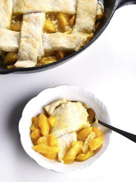 Grandmother's Peach Cobbler Recipe