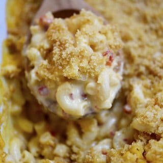 Southern Macaroni and Cheese Recipe - Macaroni and cheese makes a classic dish everyone loves. This Southern macaroni and cheese recipe is an heirloom family recipe that everyone loves! // addapinch.com