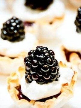 Blackberry Tartlets Recipe