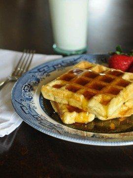 Buttermilk Waffles Recipe for a Crowd
