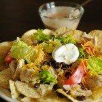 Chicken Nacho Salad | ©addapinch.com