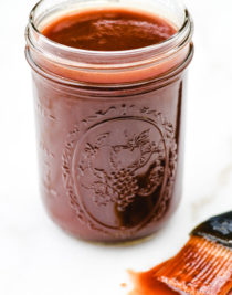This family Coca-Cola BBQ Sauce recipe is an all-time favorite. Sweet, spicy, and oh so delicious, this bbq sauce recipe is a must in my family. // addapinch.com