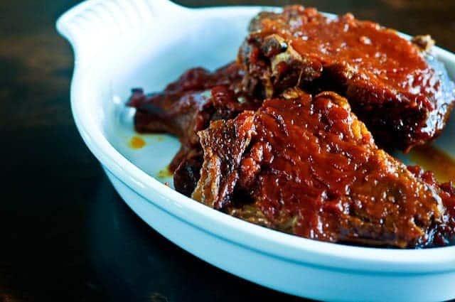 Slow Cooker Bbq Pork Chops Add A Pinch
