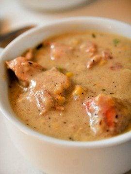 Southern Chicken and Corn Chowder Recipe