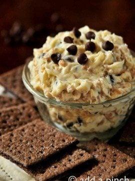 The BEST Cookie Dough Dip Recipe!