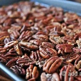 Roasted Pecans Recipe