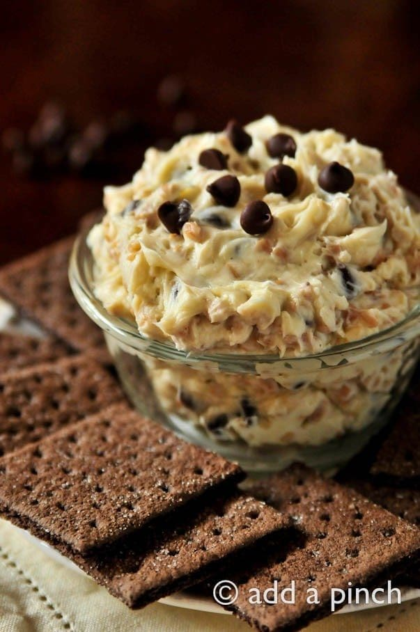 Cookie Dough Dip Recipe | ©addapinch.com