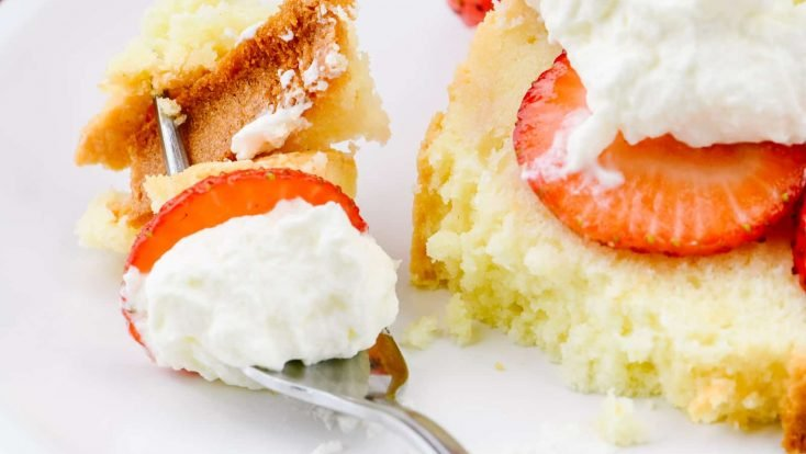 This Cream Cheese Pound Cake recipe is a delicious family favorite pound cake loved for generations. Simple to make with only seven ingredients, this is the best cream cheese pound cake and makes a perfect dessert! // addapinch.com