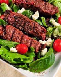 Seven Pepper Steak Salad Recipe 1