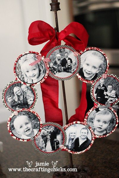 Photo Wreath Tutorial