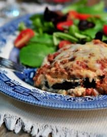 Eggplant Lasagna Recipe - Eggplant Lasagna makes an easy and delicious lasagna recipe the whole family will love! // addapinch.com