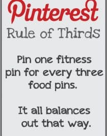 PInterest Rule of Thirds