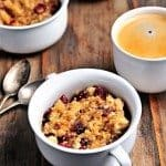 Bruleed Cherry Oatmeal Recipe