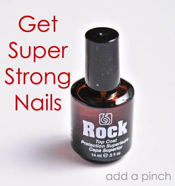 Beauty Find :: Rock Hard and Top Coat - Add a Pinch