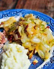 Braised Cabbage with Bacon Recipe