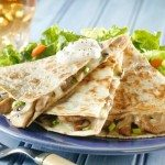 Pork and Mushroom Quesadillas Recipe