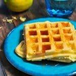Lemon Buttermilk Waffles Recipe