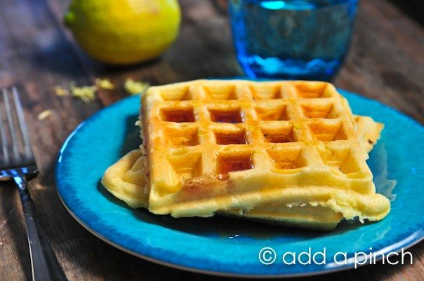 Lemon Buttermilk Waffles 3