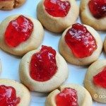 Grandmother's Jam Thumbprint Cookies Recipe