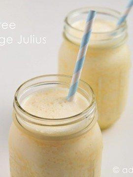 Sugar-Free Orange Julius Recipe