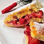 Strawberries and Cream Stuffed French Toast Recipe