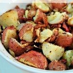 Warm Potato Salad with Bacon and Onion Recipe