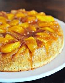 Nectarine Upside Down Cake Recipe