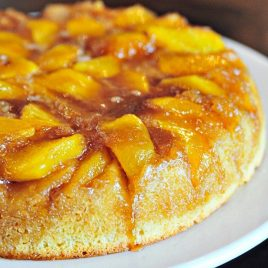 Nectarine Upside Down Cake Recipe