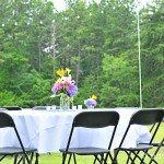 Outdoor Party Lighting {Mingle Monday}